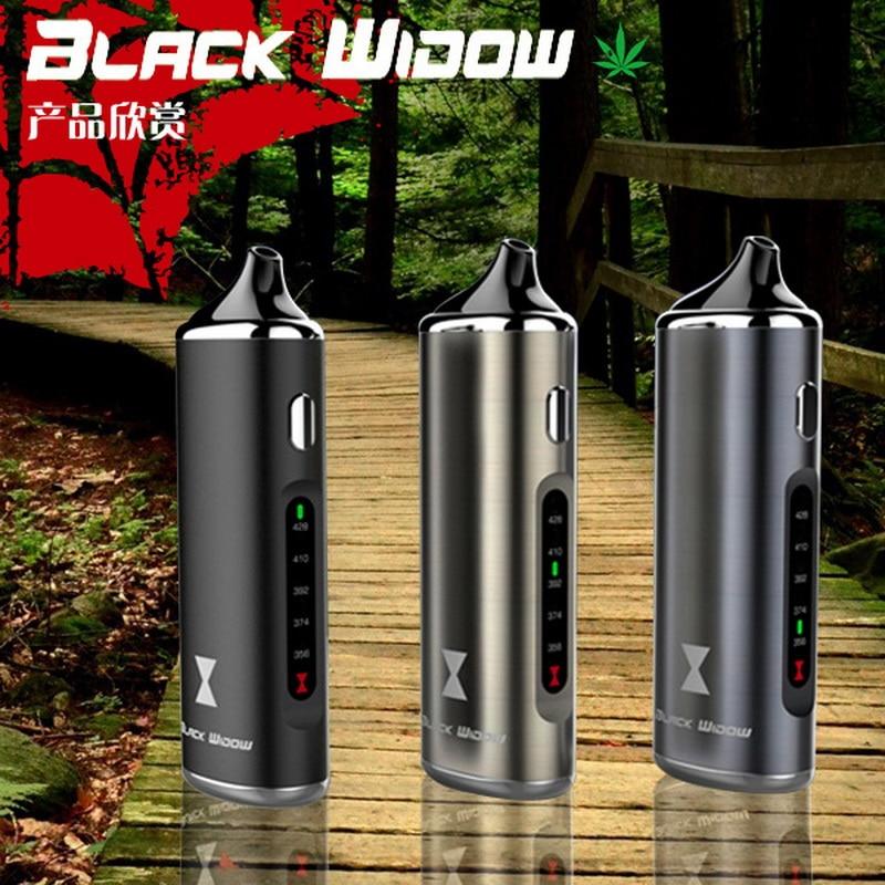 100% Original Black Widow Kingtons dry herb mod boxherbal flowermate vaporizer vape pen e cig cigarette black widow Nokiva