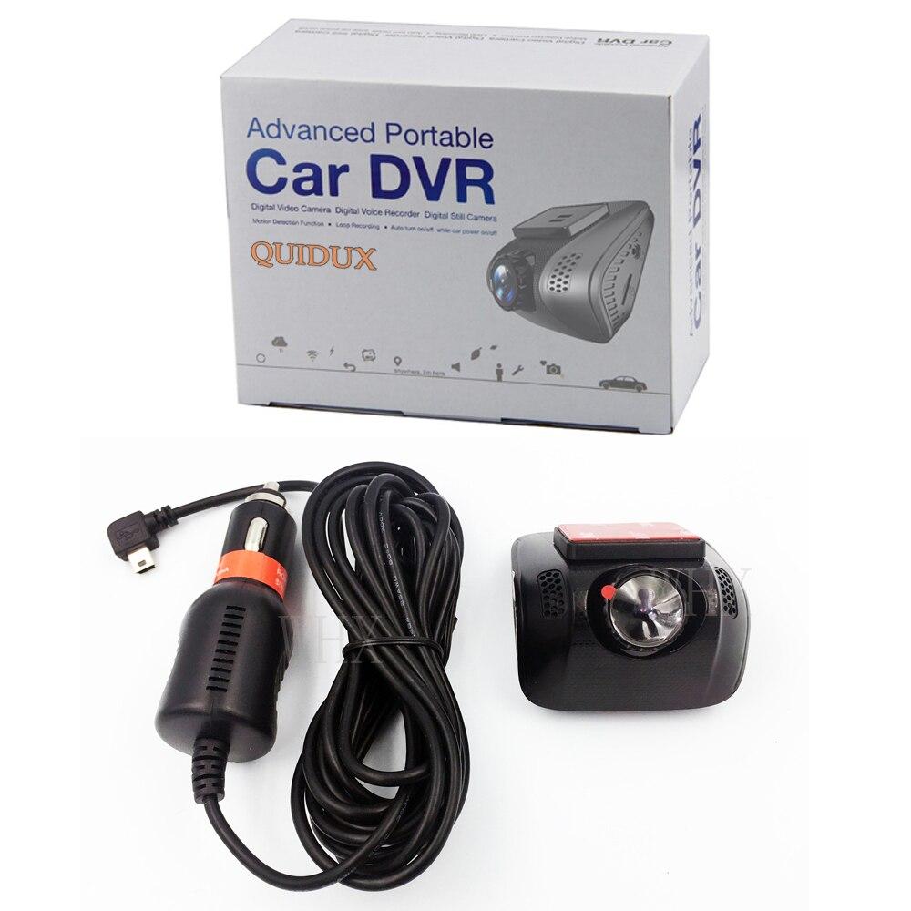 Mini Full HD 1080 P WIFI voiture DVR Dashcam 170 degrés WDR enregistreur vidéo caméra g sensor enregistrement en boucle Vision nocturne Novatek 96655 - 6