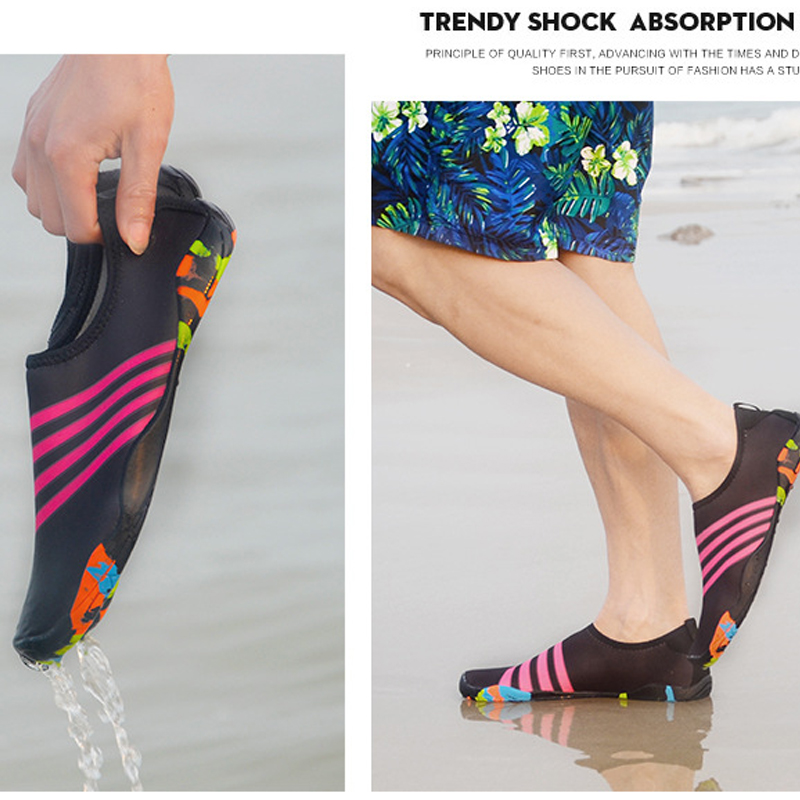 Children 39 s Water Socks Breathable Comfortable Snorkeling Socks Quick Dry Shoes Diving Gym Anti slip Sports Kids Beach Socks in Sandals from Mother amp Kids