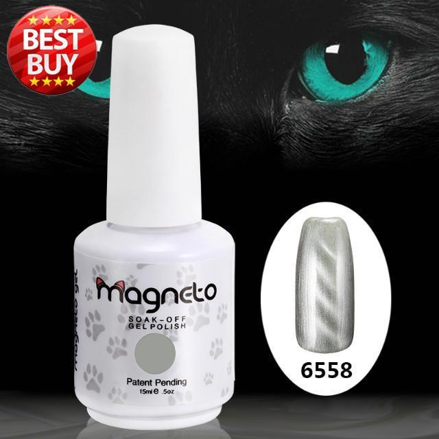 2017 Top Fashion Direct Selling Gel Nails Beauty 20pcs Magnetic Gel Free Shipping 15ml 0.5oz Uv Polish Best On Nail Sticker
