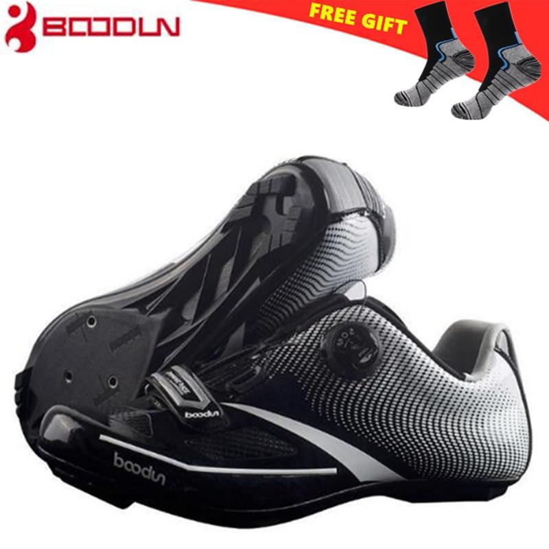 BOODUN Road Cycling Shoes Men 2018 Bike Sneakers Zapatillas Ciclismo Chaussure Vtt Breathable Fietsschoenen Bicycle Equipment