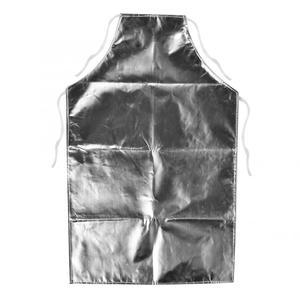 Image 1 - 1000 °C Heat Resistant Aluminum Foil Apron High Temperature Working Apron