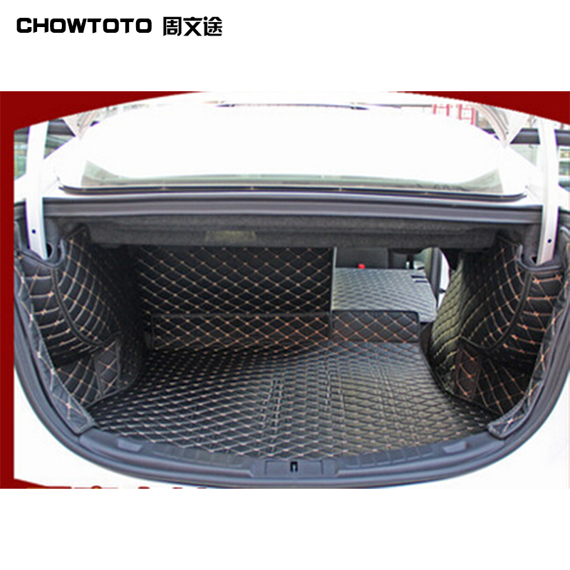 CHOWTOTO AA Special Trunk Mats For Wear-resisting Waterproof Boot Carpets For Lagguge Pad