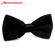 Abruzzomaster Man Bow Ties Western style Suits Bow Ties Custom made Color for Bow Ties 1 Piece Men's Wedding Bow Ties