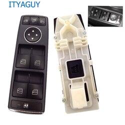 Wysokiej jakości A2128208310 po stronie kierowcy elektryczny przełącznik do okna dla M ** ercedes W204 W212 C E klasa A2128208310 w Przełączniki i przekaźniki samochodowe od Samochody i motocykle na