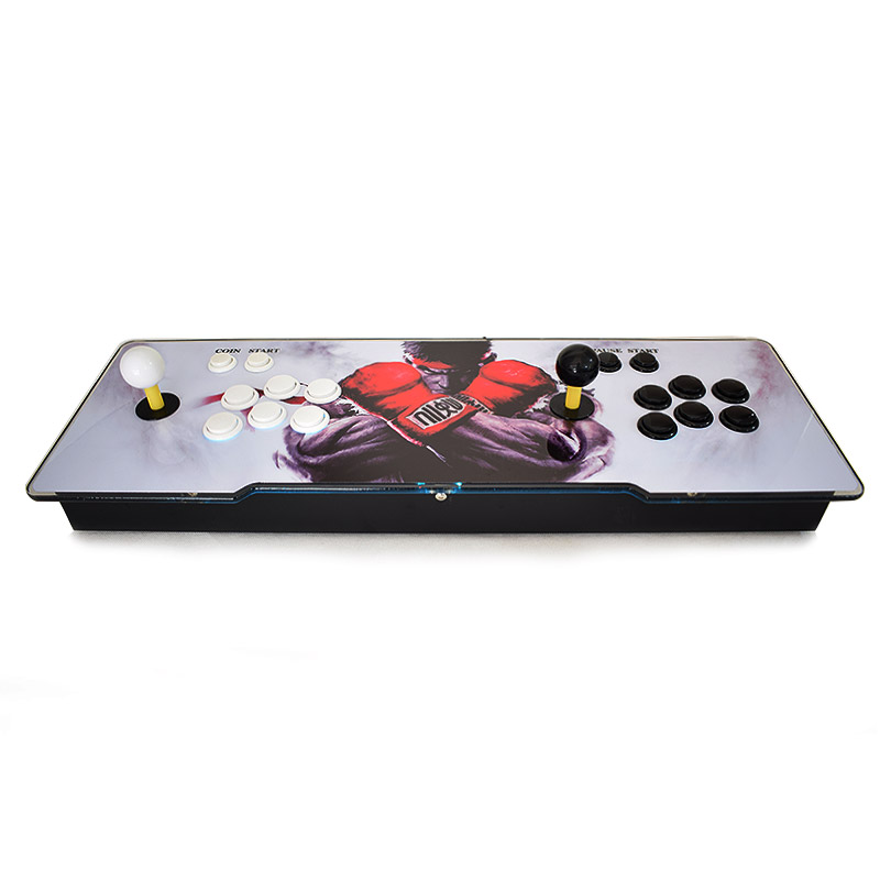 Pandora 6S 1399 Games Arcade Console VGA/HDMI Output LED Lighted Acrylic Surface Replace Sanwa Joystick PCB Board Arcade Console