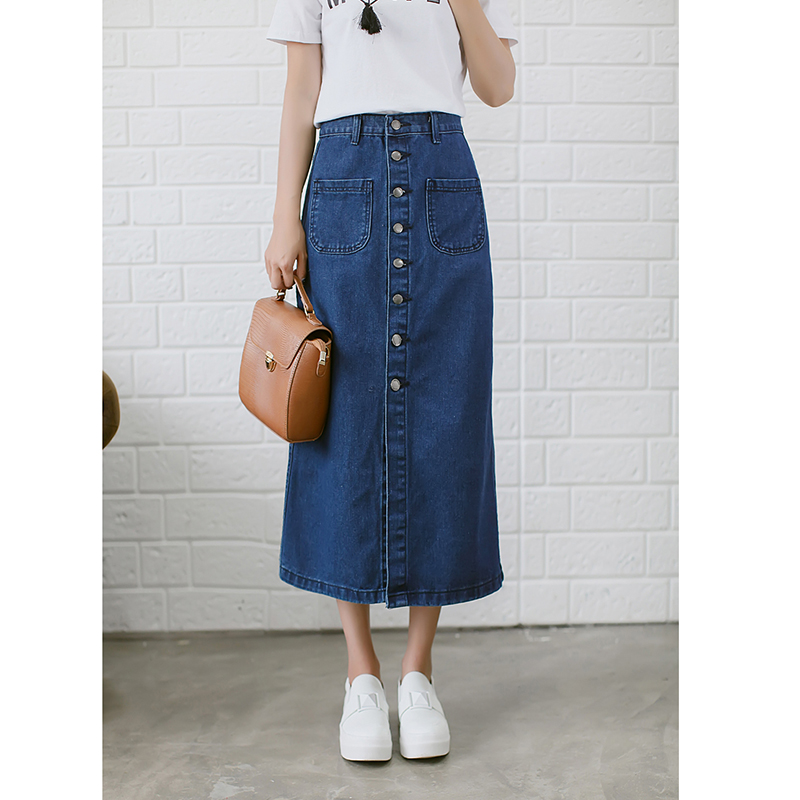 Popular Ankle Length Denim Skirts-Buy Cheap Ankle Length Denim ...