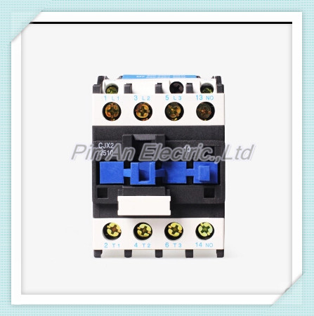 Free shipping Superior quality Contactor  CJX2-2510 contactor AC 220V silver point Voltage optio gmc 220 ac electromagnetic contactor brand new