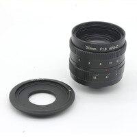 50mm f1.8 C mocowanie APS-C czujnik kamery CCTV Obiektyw obiektywy z C-NEX pierścień adaptera Dla Sony NEX NEX-6 Kamery, NEX-5R, NEX-F3
