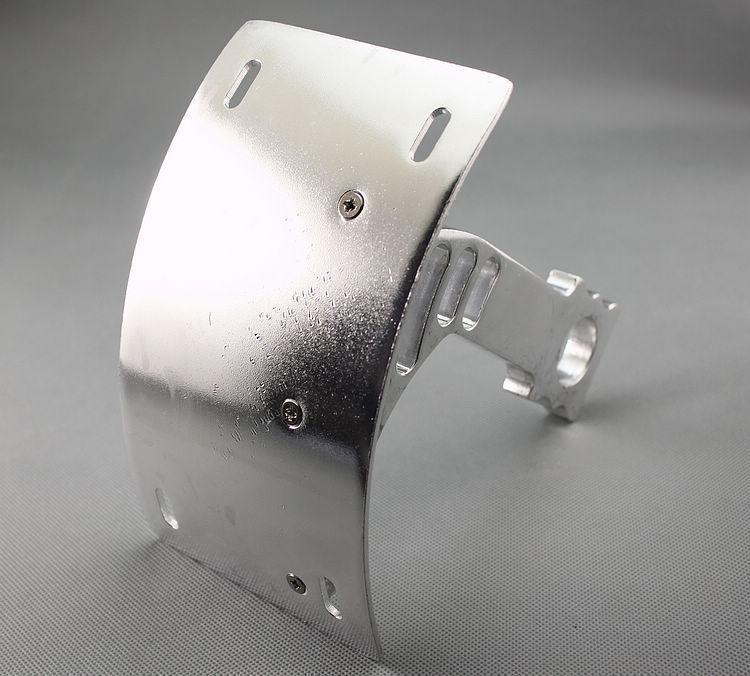 Изогнутые боковые маятник лицензии средства перемещения пластины Кронштейн для Honda CBR1000RR ЦБ РФ 1000 600 CBR600RR мотоцикл 2004-2013 рублей