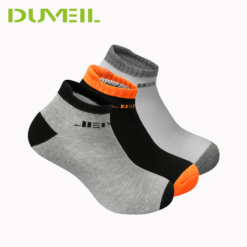 3Pairs/Lot 85% Cotton High Elastic Men Soft Sports Socks Thickening Hosiery High Achilles Tendon Running Socks German Quality