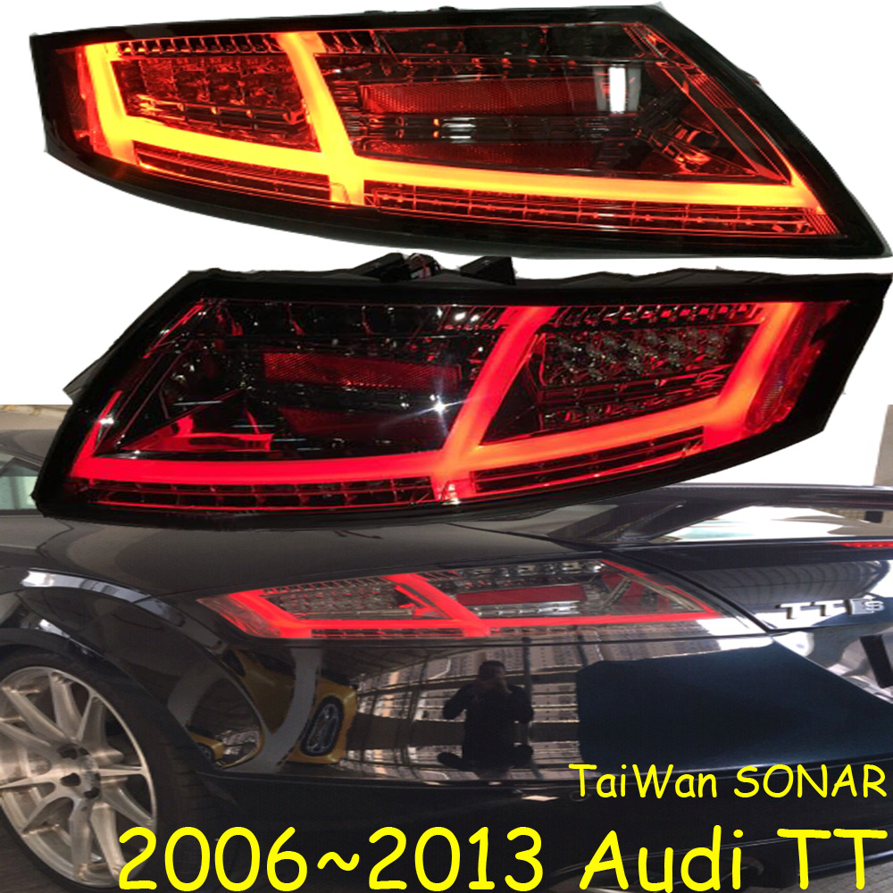 Car Styling for TT Tail Lights 2006~2013year TT LED Tail Lamp LED DRL Brake Dynamic Signal Reverse auto Accessories