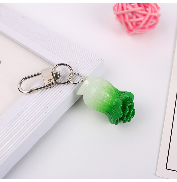 Handmade Novelty Packet Of Onion Rings  Keyring//Bag Charm