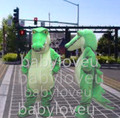 New Crocodile mascot costume fancy hot sale dog bugs bunny dragon mascotte cooling fancy dress carnival costume