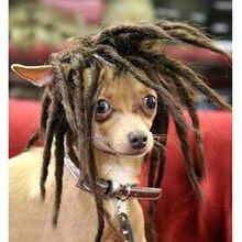APAUALPET парик для домашних животных вечерние подарки собака парик для кота Забавный для собаки кошки