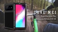 Love Mei Powerful 360 Full Cover Protection Heavy Duty Dual Shockproof Life Waterproof Case for Samsung Galaxy S10 5G
