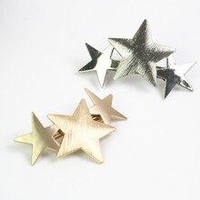 star metal hair clips for women hair accessories headbands cintillos headdress hairgrips korean tiara hair jewelry