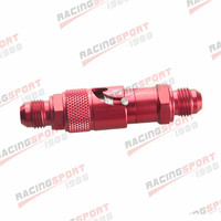 AN 6 AN6 6AN 6AN Quick Release Fittings Fuel Adaptor Hose Red