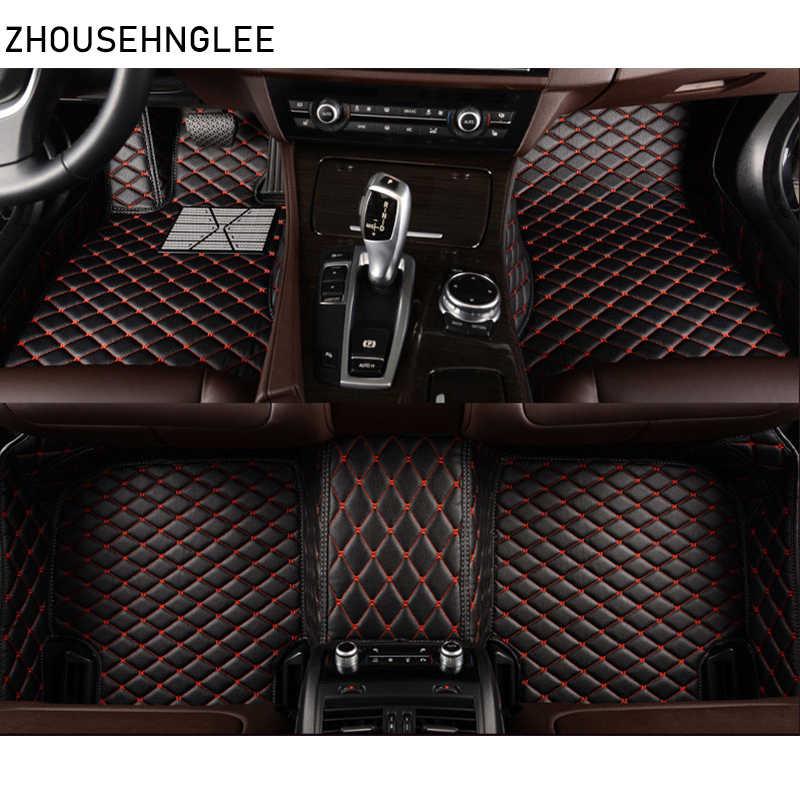 Design 3D TPE Foot Floor Mats For Nissan Qashqai II J11 2014