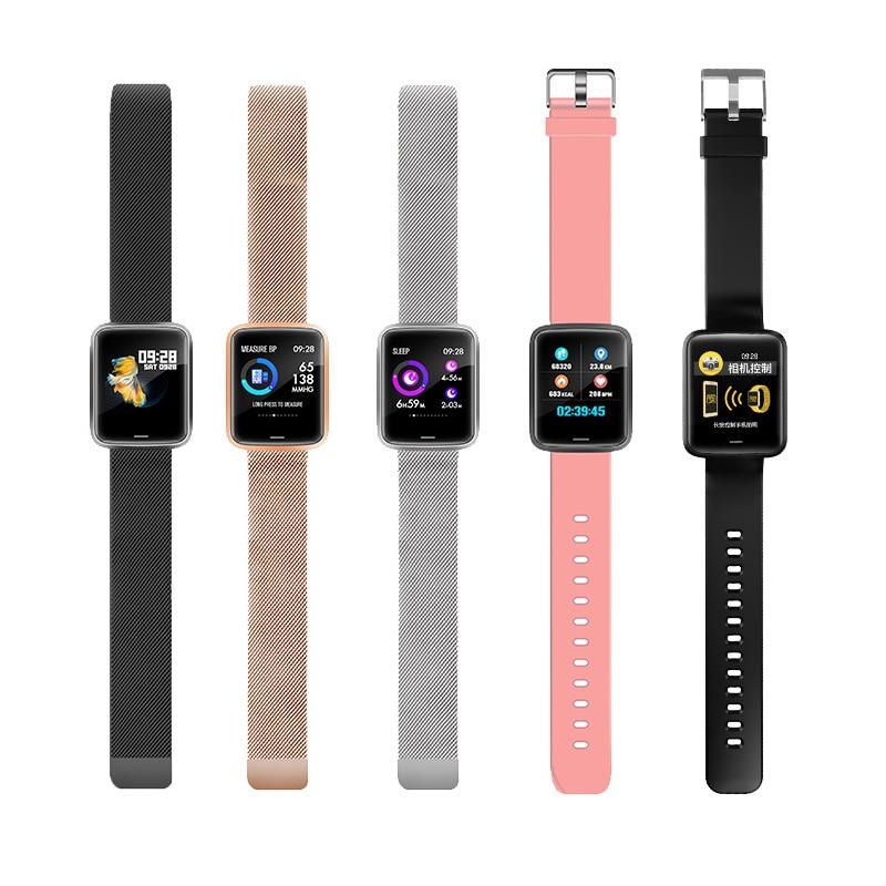 Chine montre intelligente Mobile étanche OLED écran Bluetooth Sport Fitness Tracker hommes femmes Smartwatch pour IOS Android téléphone - 6