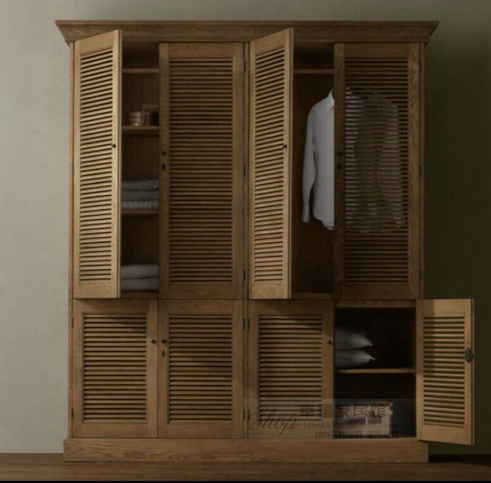 French Oak American Country To Do The Old Retro Closet Two