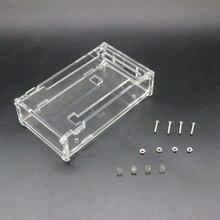 SUQ boîtier Transparent brillant boîte acrylique Compatible pour arduino Mega 2560 R3 boîtier