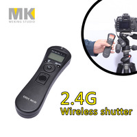 DBK RST7201 2 4G Wireless Timer Remote Control Shutter Release For Canon Pentax Samsung Contax 60D