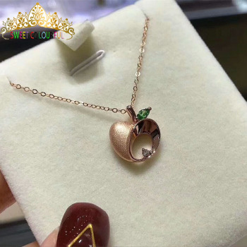 Christmas giftChristmas gift Jewelry Au750 18K Necklac  With national certificate 0003 1