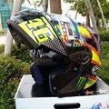 Бесплатная доставка Новый для SHOEI 46 # Флип мотоциклетный шлем полный шлем мотоциклетный Шлем ATV Безопасности шлем с двумя объективами