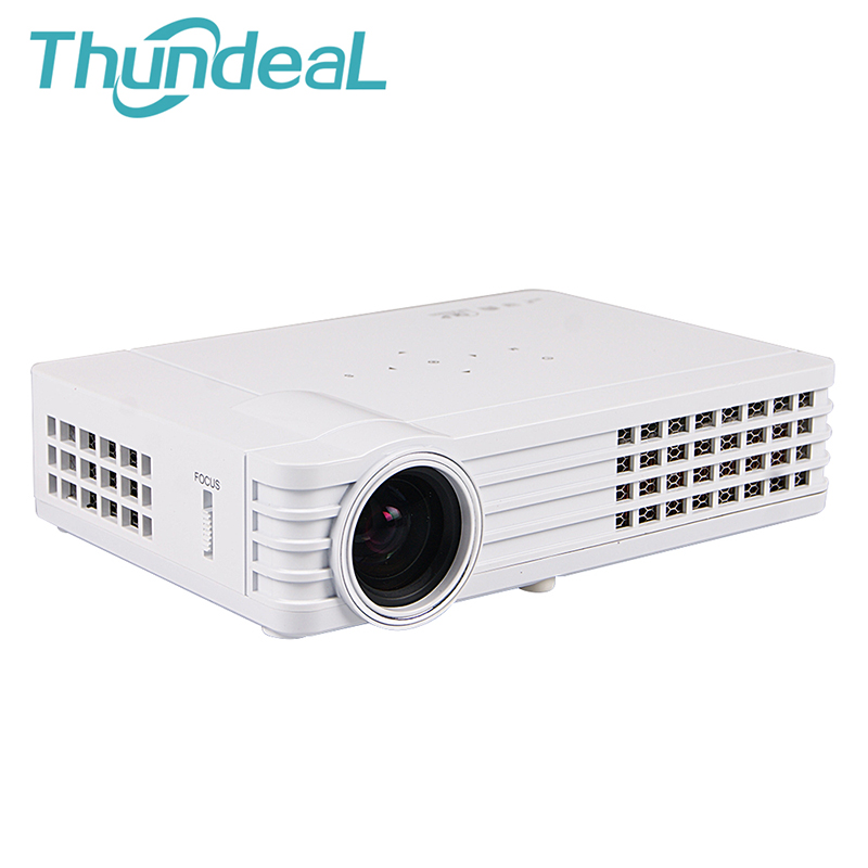 ThundeaL Shutter Active 3D DLP Projector DLP-600W DLP900W Android WiFi Bluetooth 450Ansi Lumens HD 3D Video Mini Projector sg08 bt 3d active shutter glasses w bluetooth for 3d projector tv black