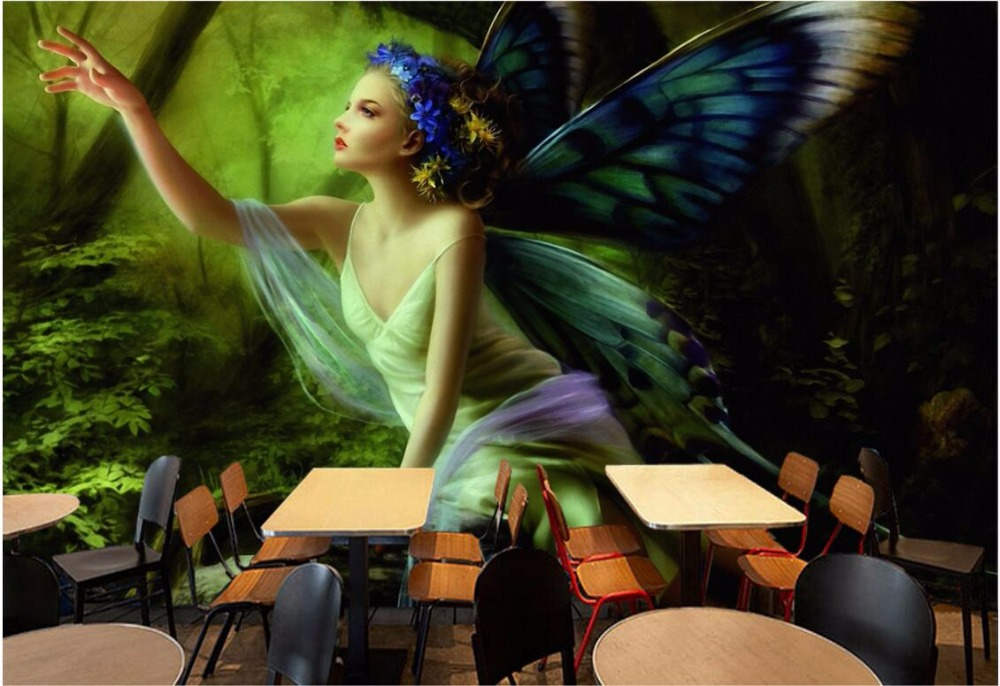 Custom photo 3d room wallpaper mural Dream wood elves game landscape painting 3d wall murals wallpaper for living room custom photo wallpaper 3d wall murals balloon shell seagull wallpapers landscape murals wall paper for living room 3d wall mural