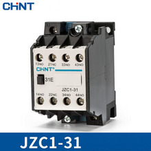 цена на CHINT Contact relay JZC1-31 JZC1-40 JZC1-22 220V 380V 110V 24v AC contactor 3 open and close