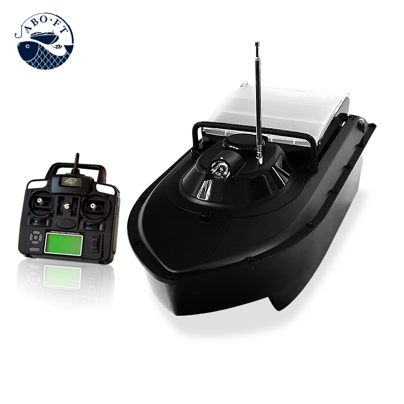 Free shipping JABO 2CG-32Ah display screen remote controller RC bait boat for fishing Hook free shipping factory price catamaran hull jabo 5a long distance two hoppers rc bait boat for releasing hook