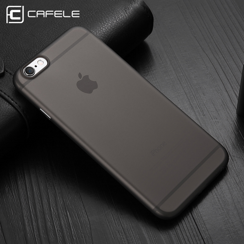 Galleria fotografica CAFELE translucent Phone Case For Iphone 6 Cases Luxury Micro matte PP Shockproof Back Phone Cover For Iphone 6S Plus Case