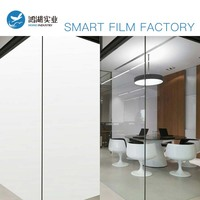 Home Office Smart Window Film PDLC Switchable Electronic On Off Privacy to Clear FILM Privacy Customise Size