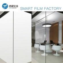 Película inteligente para ventana PDLC para oficina en casa, interruptor electrónico «On Off» para privacidad de película transparente, tamaño personalizado para privacidad