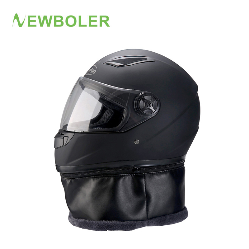 NEWBOLER Winter Bicycle Helmet xl Full Face Windproof MTB Motorcycle Scooter Downhill Mountain Bike Helmets With