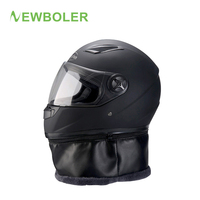 NEWBOLER Winter Bicycle Helmet xl Full Face Windproof MTB Motorcycle Scooter Downhill Mountain Bike Helmets With Anti fog Goggle
