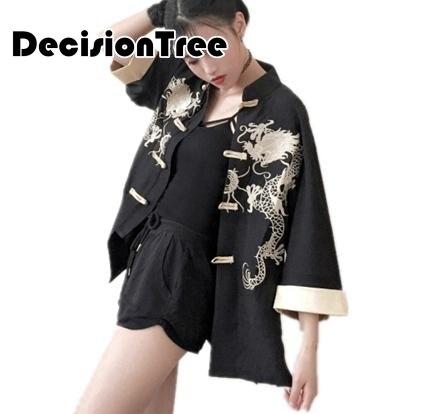 9c7e1aef688 2019 new women s robe traditional kimono cos clothes japanese kimono beach cardigan  japanese Dragon Embroidery kimono-in Asia   Pacific Islands Clothing ...