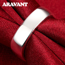 New Arrival Square Ring Simple Silver For Women Wedding Engagement Rings Jewelry