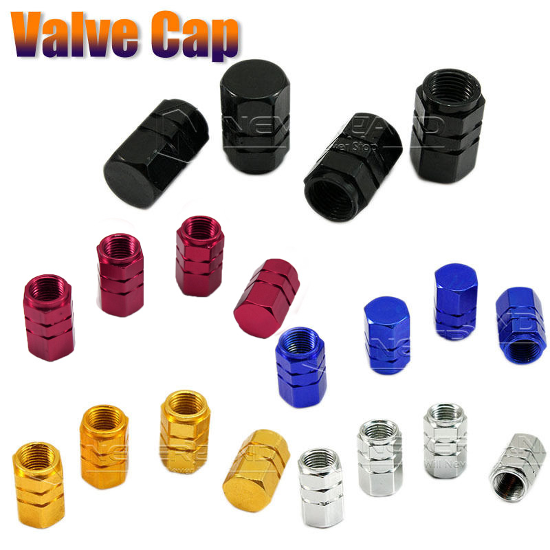 4Pcs Universal Aluminum Car Tyre Air Valve Caps Bicycle Tire Valve Cap Car Wheel Styling Round Red Black Blue Silver Gold D05 4pcs universal aluminum car tyre air valve caps bicycle tire valve cap car wheel styling round alloy caps 16 x 10 x 10mm