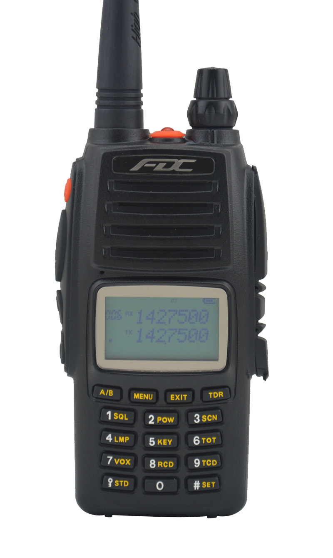FDC FD-890 Plus 10Watt VHF 136-174MHz Professional FM Transceiver walkie talkie 10W 10km