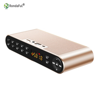 Bluetooth Speaker 4 0 Portable Wireless Super Bass Dual Speakers Soundbar TF FM Radio LED Digital