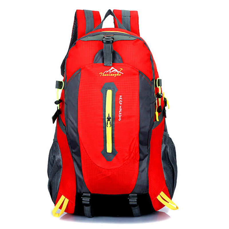 ФОТО Men Nylon Backpacks 2016 New Women Travel Backpack High Quality Hot Men Mountaineering Travel Bags Rucksack