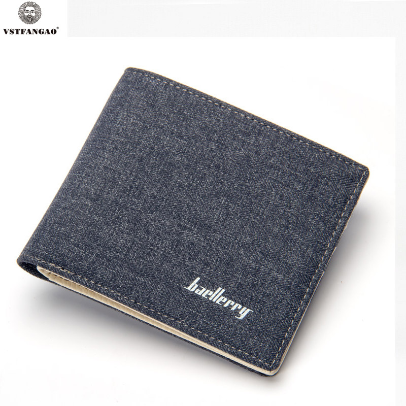 2017 New Retro Man Canvas Wallets Male Purse Fashion Card Holders Small Zipper Wallet New Designed Multi Pockets Purse For Male fashion card holders new retro man leather wallets male purse small no zipper wallet new designed multi pockets purse for male
