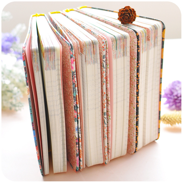 New Arrival Cute PU Leather Floral Flower Schedule Book Diary Weekly Planner Notebook School Office Supplies Kawaii Stationery 2
