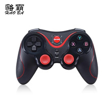 HAOBA Gen Game S5 Wireless Bluetooth Gamepad Joystick for Android Smartphone Tablet PC Remote Controller Black and white choose
