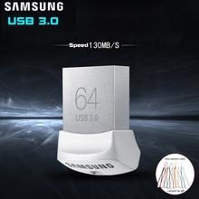 флешки Samsung USB флэш-накопитель флешки USB 3.0 32 ГБ 64 ГБ 128 ГБ мини ручка Drive Крошечный Pendrive Memory Stick устройство хранения U диска 32 ГБ флешка 32 гб