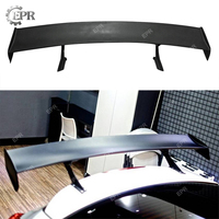 For Hyundai Veloster LP Style Wide Body FRP Fiber Glass Rear Spoiler Fiberglass Trunk GT Wing Body Kit Tuning Part For Veloster