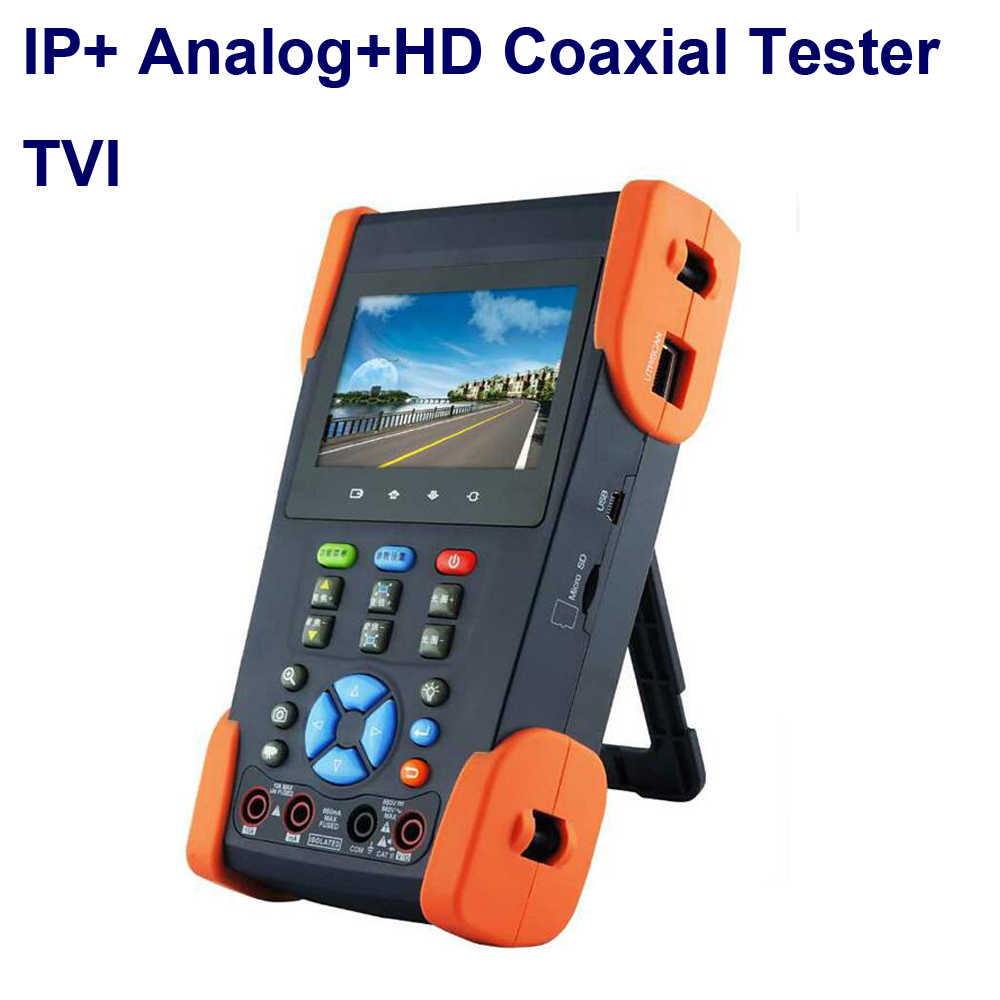 IP Camera cctv tester HD Coaxial TVI Tester with Wifi Touch Screen